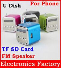 Altavoces estéreo para teléfono Psp PCtablet MP3 MP4 MP5 Reproductor De Música Color Azul