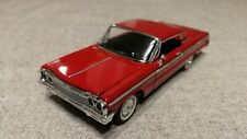 Chevrolet Impala SS 1964 red (ERTL) !!!RARE COLOR!!!