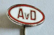 Pin / Anstecknadel - AvD Automobilclub von Deutschland - emailliert - TOP (1561