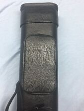 Vincitore Black Leather Case 3 Butt 6 Shaft 3x6 Ultra Light !! (Whitten Style)