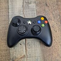 Microsoft Xbox 360 Wireless Controller Remote Replacement - Glossy Black Clean
