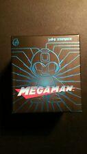 "SDCC 2016 Kidrobot Metallic Blue Mega Man  Exclusive 3"" Vinyl Figure NIB"