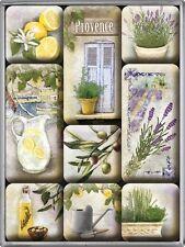 Provence Lavendel Zitrone Frankreich Kühlschrank Magnet Set 9-teilig MAG51
