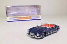 Dinky by Matchbox; 1962 Mercedes Benz 300SL Open, Blue; Excellent Boxed