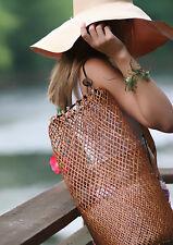 The Original Natural Rattan Bali Bag - Perfect for purse, pool, beach, cruises.