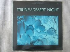 TRIUNE / DESERT NIGHT  VINYL RECORD LP / 1985 ORIGIN RECORDS ~ Santa Cruz, CA