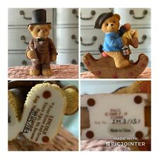 "Cherished Teddies Set historical series Lincoln ""Four Score and.)  Paul/horse"