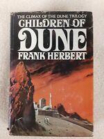 Children of Dune Trilogy Herbert First Edition Modern Dustjacket Sci Fi rare