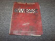 Manitowoc 3900 Crawler Crane Workshop Shop Service Repair Manual Book
