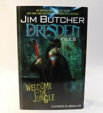 JIM BUTCHER Welcome to the Jungle The Dresden Files Illust.Ardian Syaf HB 2008