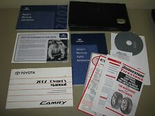 2007 TOYOTA CAMRY OWNERS MANUAL AND SERVICE GUIDES cd-rom Case