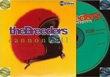 THE BREEDERS CANNONBALL france french CD SINGLE card sleeve