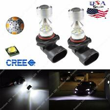 100W High Power H10 9145 LED Fog Lights Bulbs 6000K For Ford F150 2002- 2016 NEW