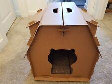 CASA di Gatto per gatti Indoor Giocattoli Gatto angolo Maglie taglienti e piallanti Play Gatto Giocattoli Gatto Furniture