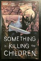🚨😱 SOMETHING IS KILLING THE CHILDREN #7 SECOND PRINT Variant Dell'Edera NM 2nd