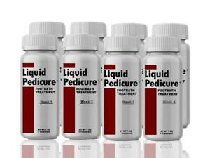Liquid Pedicure Footbath (8 Pack / 8 Treatments / 6 Month Supply)