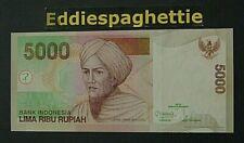 Indonesia 5000 Rupiah 2001(2012) UNC P-142l