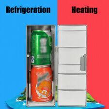 Mini Refrigerator Portable Usb Fridge Beverage Drink Cans Beer Cooler Warmer