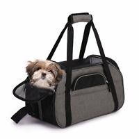 JESPET Soft Sided Pet Carrier Comfort for Airline Travel