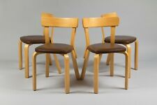 Alvar Aalto model 69 chairs. Set of 4