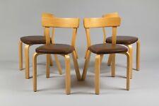 Alvar Aalto model 69 chairs. Set of 4