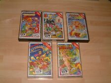 CAPTAIN DYNAMO+TARZAN GOES APE+CJ+SLIGHTLY MAGIC .. C64 COMMODORE 64 / 128 GAMES