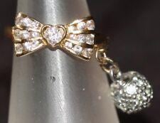 Incroyable Femmes 18 ct Or Blanc Et Saphir Designer Ring