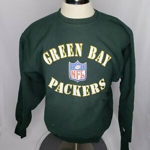 Vintage Champion Reverse Weave Green Bay Packers Crewneck Sweatshirt Size M
