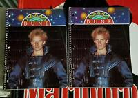 2 Dune the movie Sting david lynch Vintage Spiral Bound Notebooks 1980s  NOS
