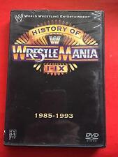 WWE HISTORY OF WRESTLEMANIA I IX 1985 1993 DVD WWE 56075