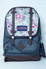 JanSport Cortlandt Backpack Multi Concrete Floral 100% Authentic
