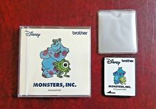 Tarjeta de bordado de hermano sa 310 D Monster Inc Muy Raro