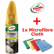 Turtle Wax Interior 1 500ml + Microfibre Cloth - Cleaner Stain Remover
