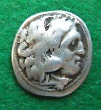 KINGDOM OF MACEDON POSTHUMOUS ALEXANDER III AR DRACHM KOLOPHON