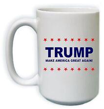 Political Coffee Mug White - Trump for President - 2 Sides