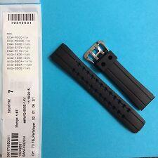 Casio Uhrband schwarz WVQ-550, WVQ-143, ECW-M300, EQW-500, EQW-510, EQW-M710
