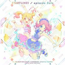 """AIKATSU STARS!"" INTRO/OUTRO THEME SONGS: START LINE!/EPISODE SOLO-JAPAN CD  C68"