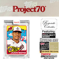 2021 Topps Project 70 - 1965 Juan Soto - Card #161 by Tyson Beck - PRESALE