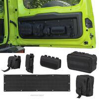 Rear Tailgate Storage Bags Case Cover Tool Organizer For Suzuki Jimny 2019+ 6pcs