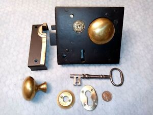 E. Wootton Rim Carpenter Lock No. 60 Restored