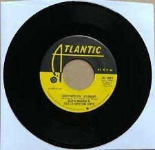 "RUTH BROWN & DELTA RHYTHM BOYS Sentimental Journey 45 7"" R&B SOUL Atlantic Vinyl"