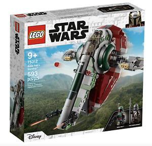 LEGO Star Wars 75312 Boba Fett's Starship BRAND NEW SEALED PRE ORDER