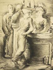karin LIEVEN (1899-1978) 1/30 Expressionisme Russe Expressionismus Russisch