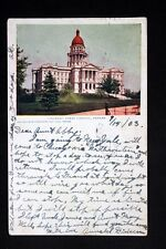 c.1903 Postcard View of Colorado State Capitol in Denver, Colorado - Posted