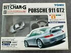 TOMY TOMICA SUPER BIT CHAR-G Silver Porsche 911 GT2 27 MHZ