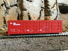 N Scale Red Caboose thrall all door boxcar HTCX. ST REGIS  NIB