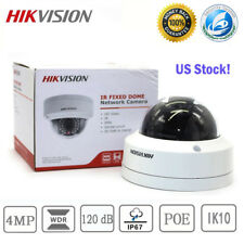 Hikvision Ds-2Cd2142Fwd-I 4Mp Full Hd 1080P Outdoor Dome Security Camera 2.8mm