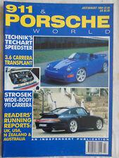 911 & Porsche World Jul/Aug 1994 Techart Speester, 911