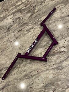 ELF Blast Bars Cruiser Mid School BMX Fresh Illusion Violet Powdercoat MINT 🔥