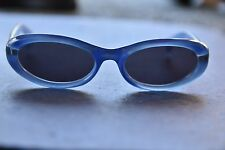 DESIGNER *GIVENCHY* 2514 54 x 18mm Blue Round Oval Sunglasses FRANCE EUC